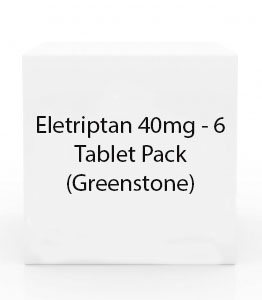 Eletriptan 40mg - 6 Tablet Pack (Greenstone)