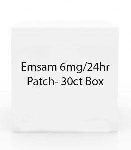 Emsam 6mg/24hr Patch- 30ct Box