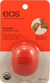 eos Lip Balm, Summer Fruit- 1ct