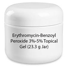 Erythromycin-Benzoyl Peroxide 3%-5% Topical Gel (23.3 g Jar)