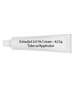 Estradiol 0.01% Cream - 42.5g Tube w/Applicator