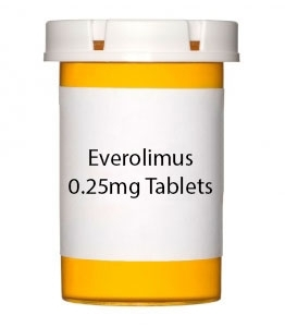 Everolimus 0.25mg Tablets