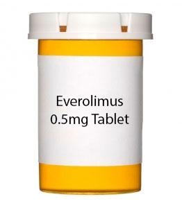 Everolimus 0.5mg Tablet