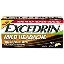 Excedrin Mild Headache Pain Reliever-125ct