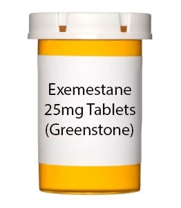 Exemestane 25mg Tablets (Greenstone)