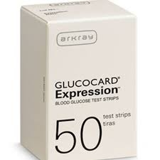 Glucocard Expression Test Strips- 50ct