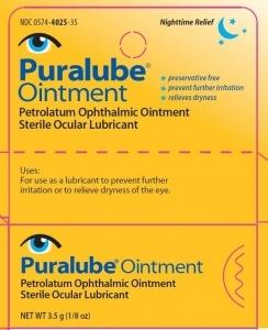 Puralube Petrolatum Ophthalmic Ointment - 3.5gm