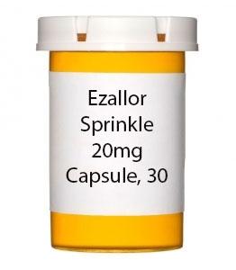 Ezallor Sprinkle 20mg Capsule, 30 Count Bottle