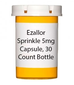 Ezallor Sprinkle 5mg Capsule, 30 Count Bottle