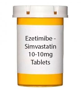 Ezetimibe - Simvastatin 10-10mg Tablets