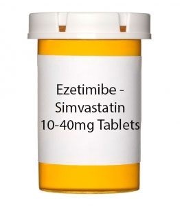Ezetimibe - Simvastatin 10-40mg Tablets