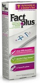Fact Plus Pregnancy Test Kit - 2 ct