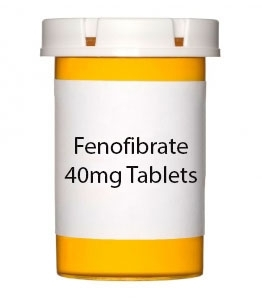 Fenofibrate 40mg Tablets