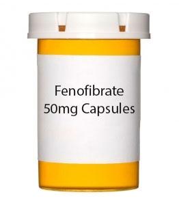 Fenofibrate 50mg Capsules