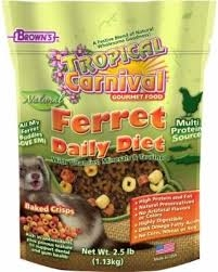 Brown's Encore Premium Ferret Food- 2lbs ** Extended Lead Time **