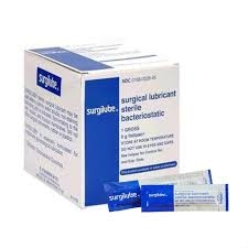 Surgilube Lubricating Sterile Jelly Foilpac - 144x5g Box