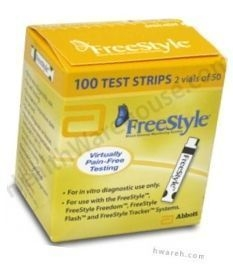 FreeStyle Diabetic Test Strips - 100 Strips