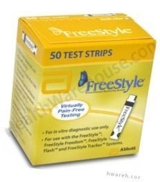 FreeStyle Diabetic Test Strips - 50 Strips