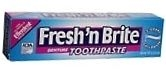 Fresh 'N Brite Denture Toothpaste - 3.8 oz Tube