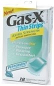 Gas-X Thin Strips Antigas Peppermint - 18