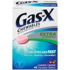 Gas-X Extra Strength Cherry Tablet - 48ct
