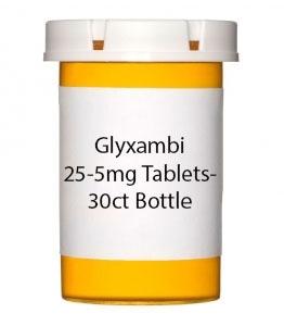 Glyxambi 25-5mg Tablets- 30ct Bottle