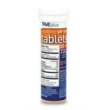 GNP® Glucose Tablet, Orange- 6-10ct packs