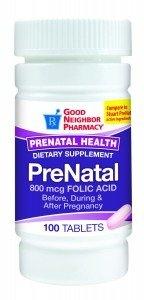 GNP® Prenatal Vitamins- 100ct