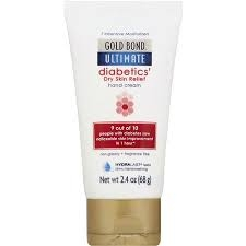 Gold Bond Ultimate Diabetic Dry Skin Relief Hand Cream- 2.4oz