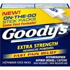 Goody's Extra Strength On-The-Go Headache Powders - 24ct