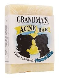 Grandma's Acne Bar for Normal Skin- 4oz ** Extended Lead Time **
