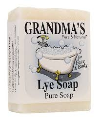 Grandma's Lye Soap- 4oz ** Extended Lead Time **