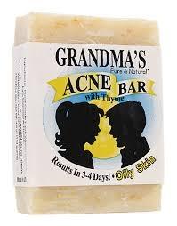 Grandma's Acne Bar for Oily Skin- 4oz ** Extended Lead Time **