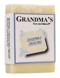 Grandma's Shampoo & Shave Bar- 4oz ** Extended Lead Time **