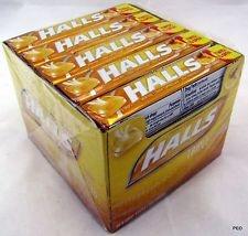 Halls Honey-Lemon Advanced Vapor Action Cough Suppressant Drops - 9ct/20 Pack