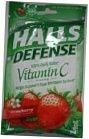 Halls Defense Supplement Drops Vitamin C Strawberry Flavored 30 Drops