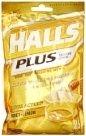 Halls Plus w/Medicine Center Vapor Action Honey-Lemon 25 Drops