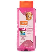 Hartz® Groomer's Best Shampoo, 3 in 1 Conditioning, for Dogs, Tropical Breeze Scent- 18oz  ** Extended Lead Time **
