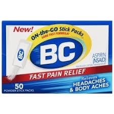BC Headache Powders - 50 Count
