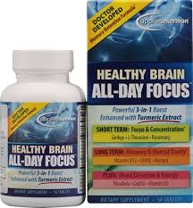 Applied Nutrition Healthy Brain All-Day Focus Tablets - 50ct
