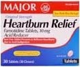Heartburn Relief (Famotidine 10 mg) Tablets - Box of 30
