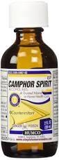 Humco Camphor Spirit USP - 2 fl oz