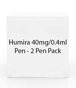 Humira 40mg/0.4ml Pen - 2 Pen Pack