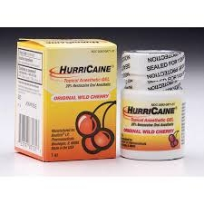 HurriCaine Topical Oral Anesthetic Gel Wild Cherry - 1oz
