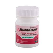 HurriCaine Topical Oral Anesthetic Gel Watermelon - 1oz
