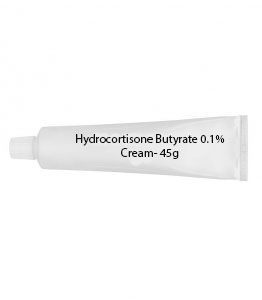 Hydrocortisone Butyrate 0.1% Cream- 45g