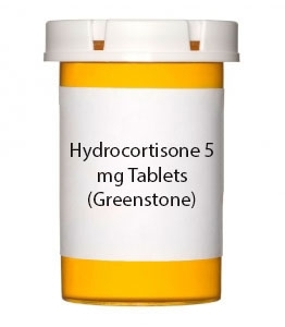 Hydrocortisone 5 mg Tablets (Greenstone)