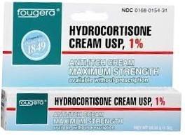 Hydrocortisone Cream USP, 1% - 1 oz. tube