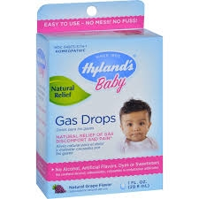 Hyland's Baby Gas Drops Grape Flavor - 1oz ***DISCONTINUED***