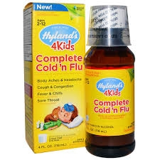 Hyland's 4Kids Complete Cold n Flu Liquid - 4oz
